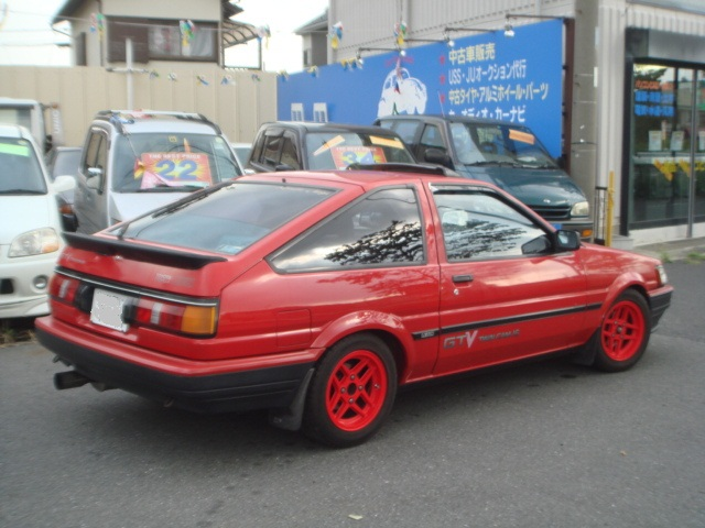 TOYOTA COROLLA LEVIN AE86 GTV FOR SALE