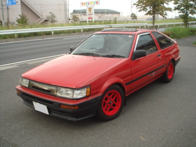 toyota corolla levin ae86 gt apex for sale car on track trading. Black Bedroom Furniture Sets. Home Design Ideas