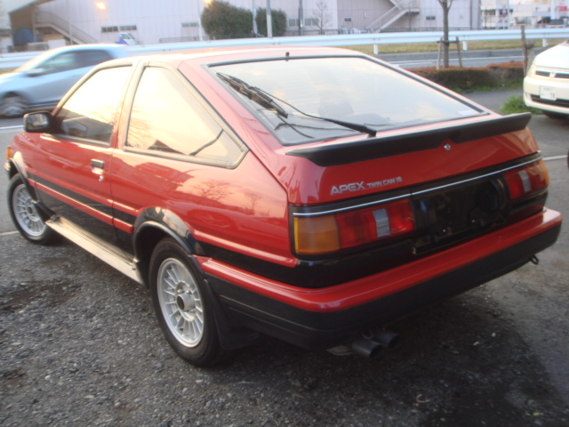 1987 year TOYOTA COROLLA LEVIN AE86 GT-APEX FOR SALE