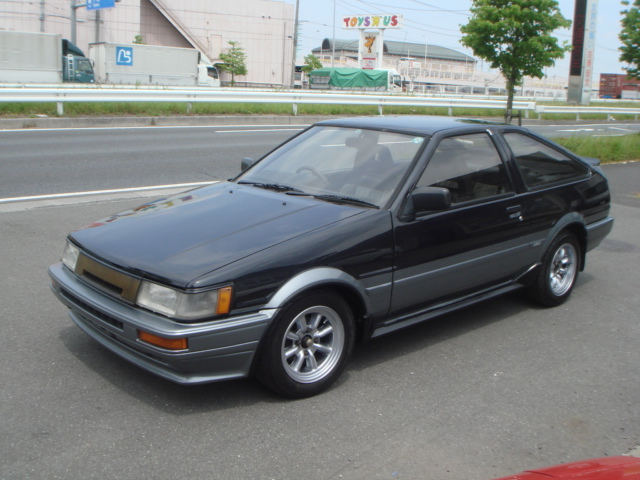 1987 year toyota corolla levin ae86 gt apex for sale car on track trading. Black Bedroom Furniture Sets. Home Design Ideas