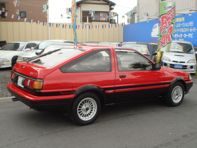 TOYOTA COROLLA LEVIN AE86 GT APEX FOR SALE