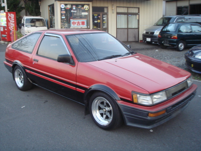 1985 year toyota corolla levin ae86 gt apex 20v eng for sale car on track trading. Black Bedroom Furniture Sets. Home Design Ideas