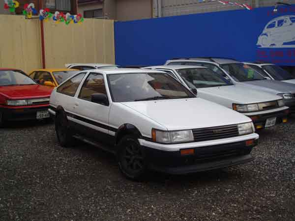 TOYOTA AE86 LEVIN GT APEX 1985 FOR SALE