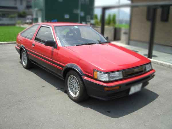 toyota ae86 gt apex 1986 for sale mazda mx 6 forum. Black Bedroom Furniture Sets. Home Design Ideas