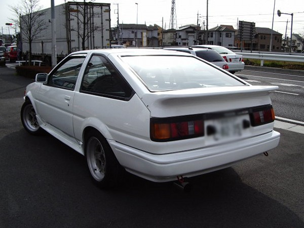 TOYOTA AE86 GTV 3D 1984 FOR SALE