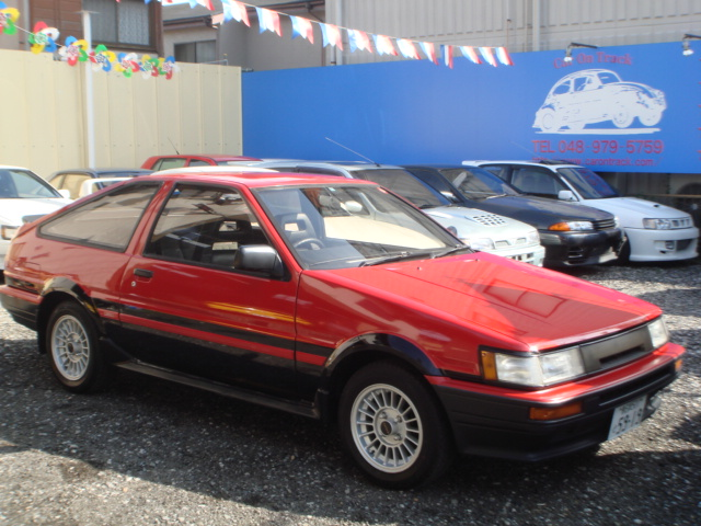 TOYOTA COROLLA LEVIN AE86 GT APEX 1987 FOR SALE