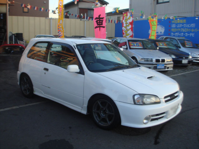Toyota Starlet Glanza V Turbo Ep91 For Sale Car On Track