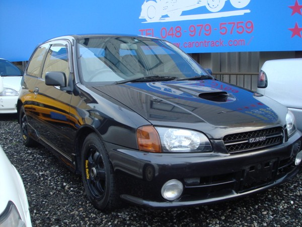 TOYOTA STARLET GLANZA V TURBO 1996 FOR SALE