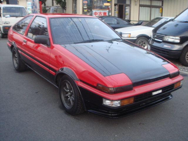 toyota corolla ae86 trueno for sale usa. Black Bedroom Furniture Sets. Home Design Ideas
