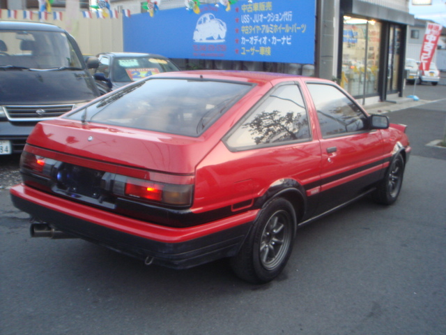 TOYOTA SPRINTER TRUENO GT APEX AE86 FOR SALE