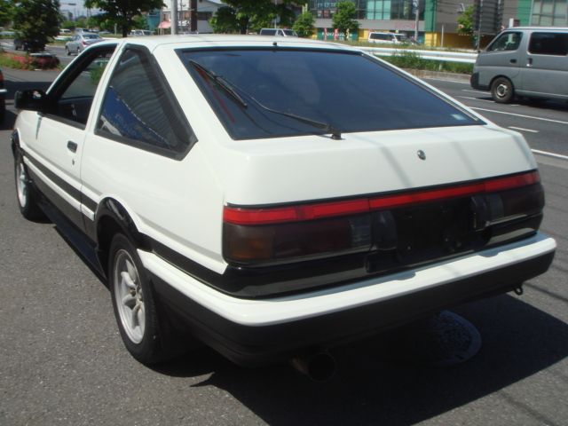 1986YEAR TOYOTA SPRINTER TRUENO TWIN CAM GT-APEX KOKI AE86 FOR SALE